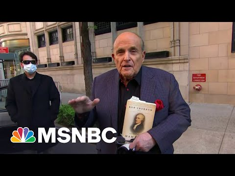'Deep sh--': Giuliani Criminal Raid Has Trump Worried | The Beat With Ari Melber | MSNBC
