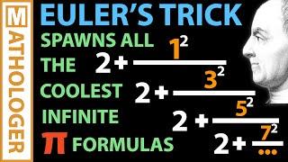 Euler's crazy pi formula generator