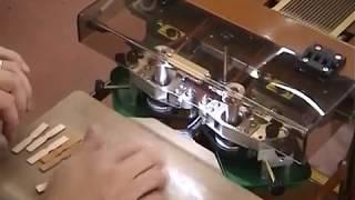 Полуавтоматическая машина для окрашивания края GALLI RC200 AUTO