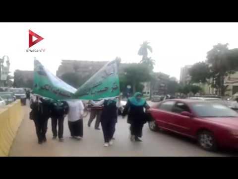 مسيرة حاشدة  في أسيوط لمناهضة العنف ضد المرأة