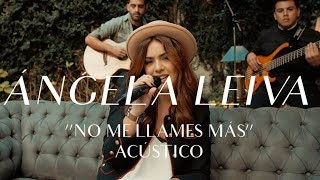 No Me Llames Mas - Angela Leiva  (Video)