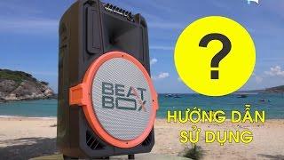Video Hướng dẫn loa vali kéo di dộng Karaoke Bluetooth Acnos