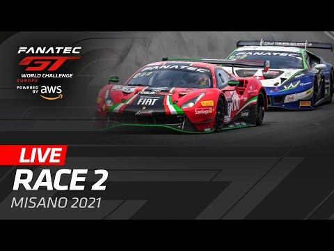 ブランパンGT 2021 ミサノ GT レース2動画