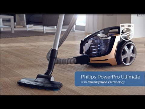 Ultimate Bagless Cylinder Vacuum Cleaner | Philips | FC9724