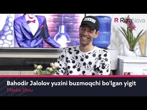 Maska Shou - Bahodir Jalolov yuzini buzmoqchi bo'lgan yigit