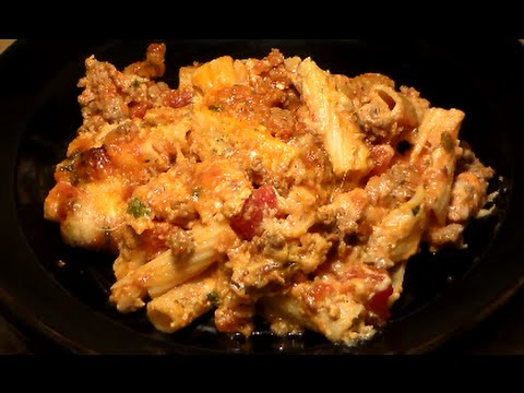 Video The Best BAKED ZITI Recipe EVER: Baked Ziti With Italian Sausage