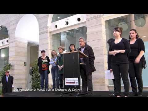 Ver vídeoDía Mundial del Síndrome de Down y Día Mundial de la Poesía 2013