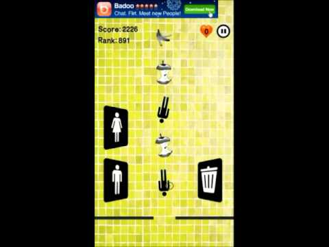 Video of Toilet Time Panic : Mini game