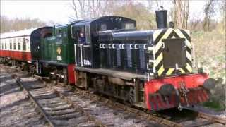 preview picture of video 'Colne Valley Railway - Diesel Gala 2012'