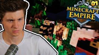 CRAFT ATTACK IN DER STEINZEIT?? | Minecraft EMPIRE #1 | Dner