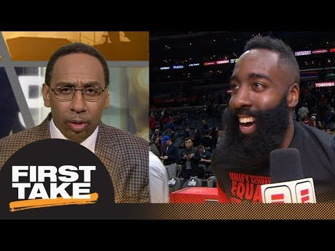 Stephen A. Smith challenges James Harden: This is not the Rockets' year | First Take | ESPN