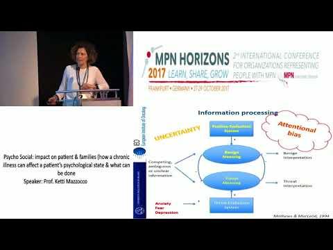 Psycho Social Aspects of Care- MPN Horizons 2017 - Prof. Ketti Mazzocco