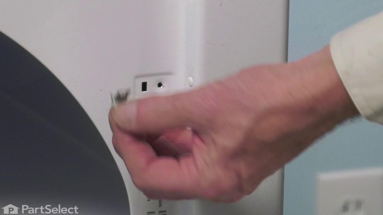 Replacing your Whirlpool Dryer Strike, Panel