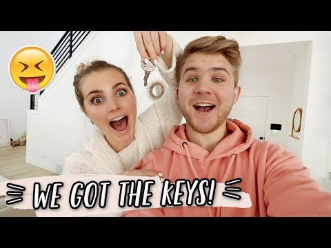 WE GOT THE KEYS TO OUR NEW HOUSE!