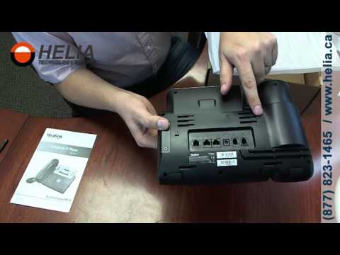 Unboxing the Yealink T27p Office Desk Phone