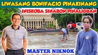 LIWASANG BONIFACIO SHRINE PINALIGUAN INISKOBA SINABON | MAYOR ISKO | MANILA CITY ENGINEERING  NIKNOK
