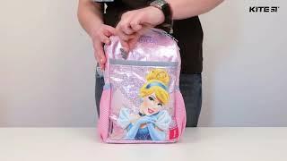 """Рюкзак дошкольный Kite Princess P18-540XS-2 ( 3-5 лет) от компании Интернет-магазин """"Радуга"""" - школьные рюкзаки, канцтовары, творчество - видео"""