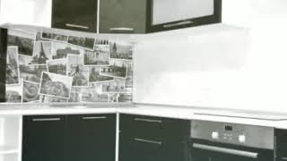 Кухня  фото № 72 фасад постформинг цвет Черная. от компании Фаберме - видео 2