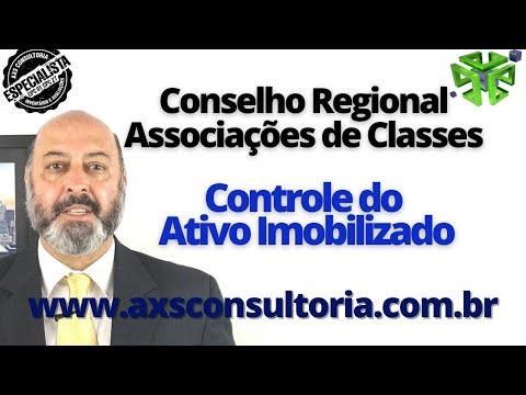 Conselho Regional e Associação de Classe - Como controlar o Ativo Imobilizado! Avaliação Patrimonial Inventario Patrimonial Controle Patrimonial Controle Ativo