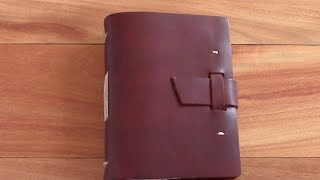 Leather Journal Review - Rustico Good Book