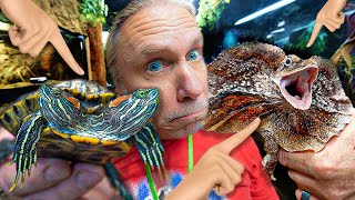 TOP TEN MOST UNUSUAL ANIMALS AT MY REPTILE ZOO!!  BRIAN BARCZYK