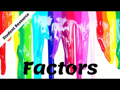 Finding Factors - Video Lesson for Kids (4.OA.4)