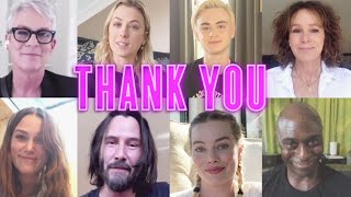 Thank You Theater Workers - Keanu Reeves, Margot Robbie, Jamie Lee Curtis | Lionsgate LIVE