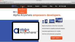Vídeo de Alpha Anywhere