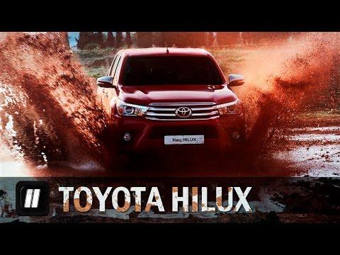 Toyota  Hilux Пикап класса J - тест-драйв 3