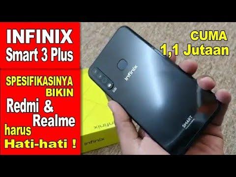 Infinix Smart 3 Plus Indonesia - Cuma 1,1 Jutaan Fitur Melimpah - News