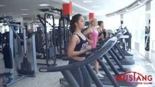 Фитнес клуб Mustang Promo