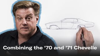 New-look Chevelle Combines Best Elements Of 70 And 71 | Chip Foose Draws A Car - Ep.7