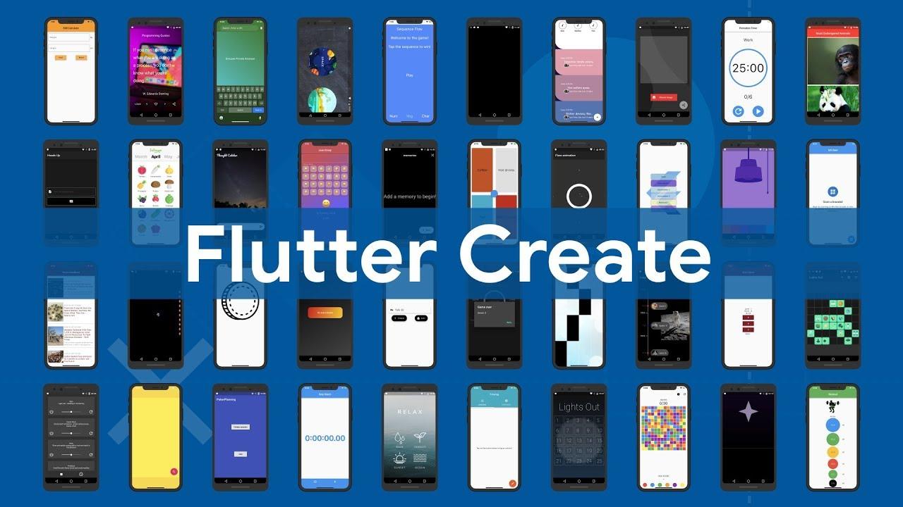 Flutter Create highlights
