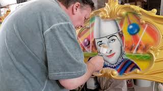 At Work – Airbrush Clown