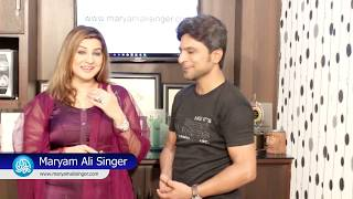 Maryam Ali Singer has launched her official website with Kamran Hayat CEO. Kamariiadd