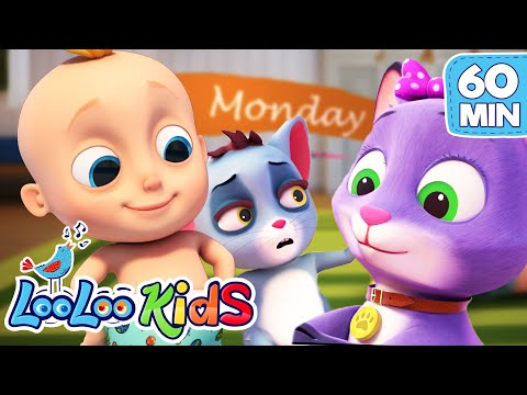 Johny and Seven Days - LEARNING SONGS for Kids | LooLooKids