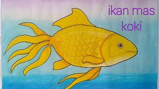 Menggambar Ikan Mas Koki Dari Angka 3 ฟรวดโอออนไลน ดทว