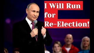 BREAKING: Yes, I will! - Putin Announces Run For Re-election in 2018 Russian Presidential Election