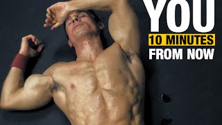10 Minute Home Fat Burning Workout (NO EQUIPMENT KILLER!!) by ATHLEAN-X™