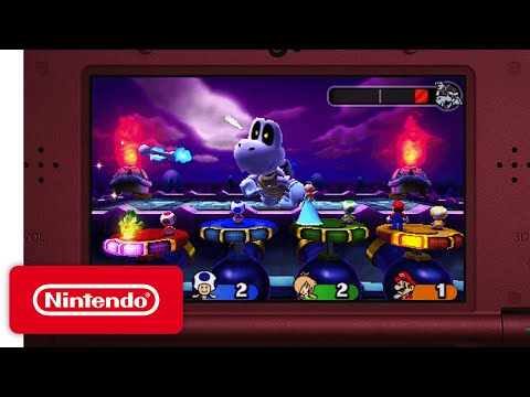 Mario Party: Star Rush - Main Modes Game Trailer thumbnail