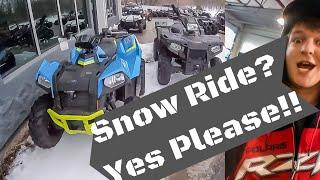 Snow Ride - Scrambler or Sportsman?