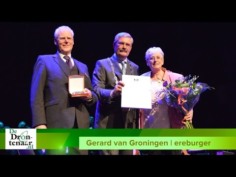 VIDEO | Gerard van Groningen ('het gezicht van De Meerpaal') ereburger Dronten
