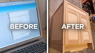 How to build custom cabinetry   Crafted by NS Builders