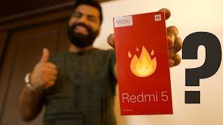 Namaskaar Dosto, is video mein maine aapse Xiaomi Redmi 5 ke baare mein baat ki hai, Xiaomi Redmi 5 ki specifications kaisi hai? Kaunsa Processor hai aur Xiaomi Redmi 5 aur price kya hai? Hum dekhenge ki Xiaomi ka yeh phone kaisa perform karta hai market mein, isme aapko milta hai Snapdragon 450 Processor, 2GB, 3GB, 4GB RAM variants aur 16GB, 32GB aur 64GB storage options. Xiao i Redmi 5 ki yeh unboxing video is phone ke baare mein aapko sabhi details de degi. Mujhe umeed hai ki aapko Xiaomi Redmi 5 aur Redmi 5 Plus ke baare mein yeh video pasand aayegi.    Share, Support, Subscribe!!! Subscribe: http://bit.ly/1Wfsvt4 Android App: https://technicalguruji.in/app Youtube: http://www.youtube.com/c/TechnicalGuruji  Twitter:  http://www.twitter.com/technicalguruji Facebook: http://www.facebook.com/technicalguruji Facebook Myself: https://goo.gl/zUfbUU Instagram: http://instagram.com/technicalguruji Google Plus: https://plus.google.com/+TechnicalGuruji Website: https://technicalguruji.in/ Merchandise: http://shop.technicalguruji.in/  About : Technical Guruji is a YouTube Channel, where you will find technological videos in Hindi, New Video is Posted Everyday :)