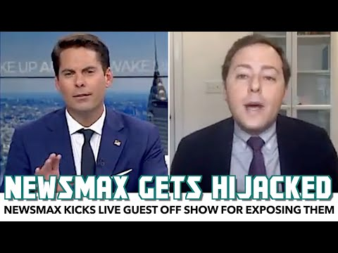 Newsmax Kicks Live Guest Off Show For Exposing Them