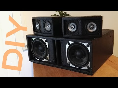 DIY eigenbau 2.1 Sound System mit Tang Band (deutsch) [HD]