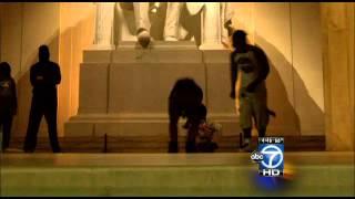 Lincoln Memorial vandalism witness talks