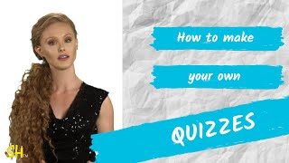 Study hack: How to make your own quizzes