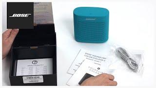 Bose SoundLink Color II – Unboxing + Setup