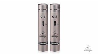 C-2 Matched Pair Studio Condenser Microphones